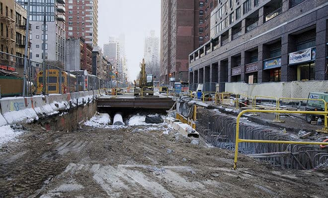 2nd Ave Subway Construction