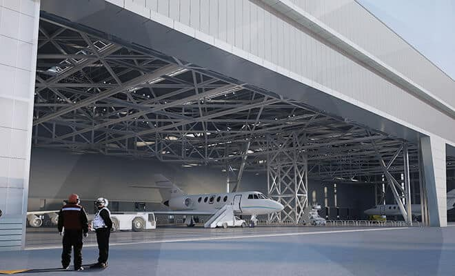 Airport Terminal/Hangar (NJ)