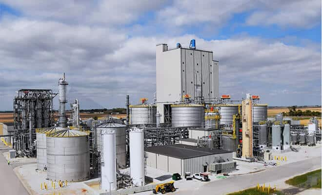 First Cellulosic Ethanol Plant of its kind in the US