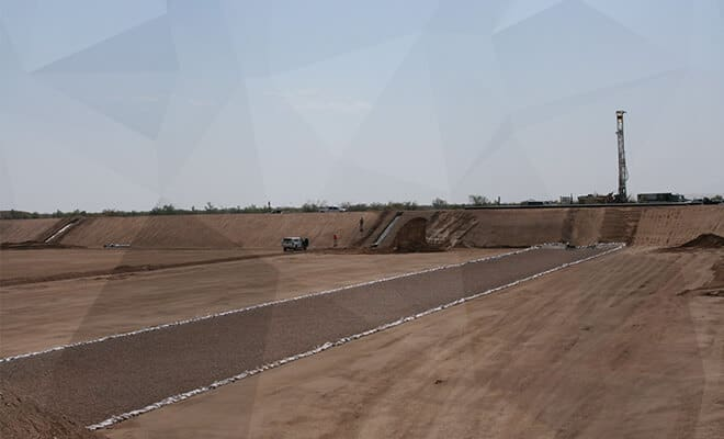 Mesquite Regional Landfill Drainage Repairs Phase II