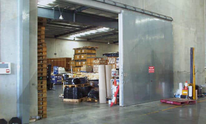 Repair Sliding Fire Doors, Basewide, Marine Corps Logistics Base