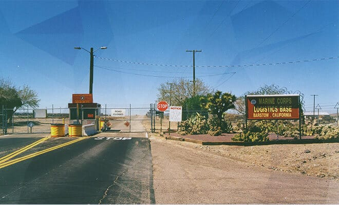 The Marine Corps Logistics Base Barstow, CA