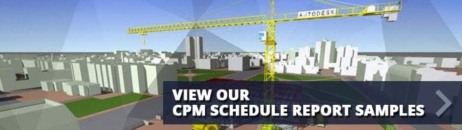 CPM Schedule Sample Reports