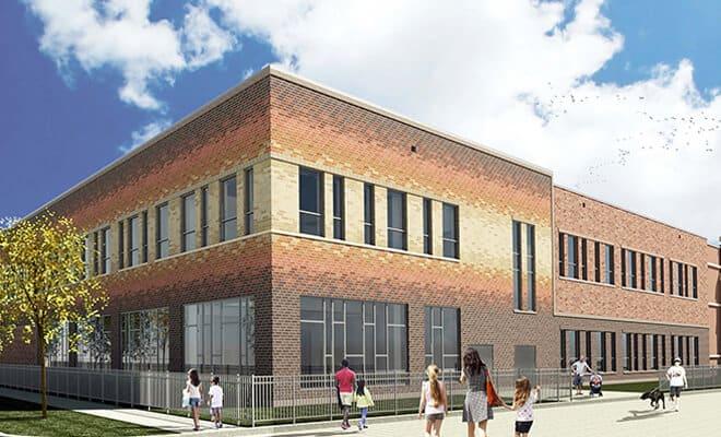 Ebinger Elementary School Renovation and Site improvements