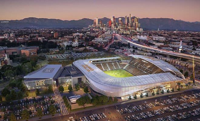 LA Stadium & entertainment district at Hollywood park