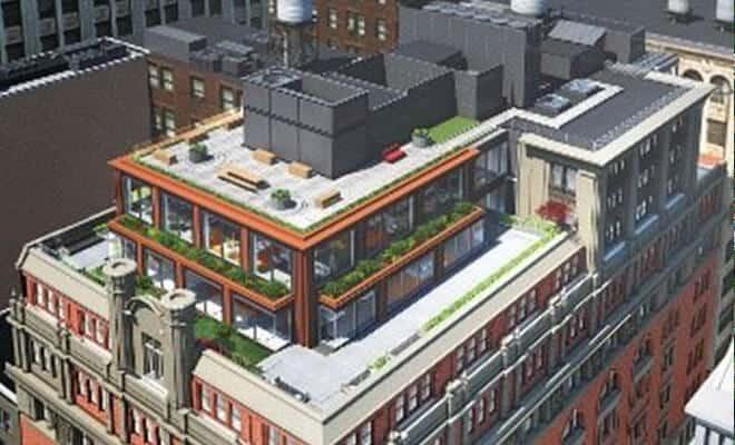 Renovation of 150 Fifth Avenue