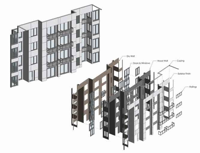 Revit - 3D Building   Hsecontractors.com
